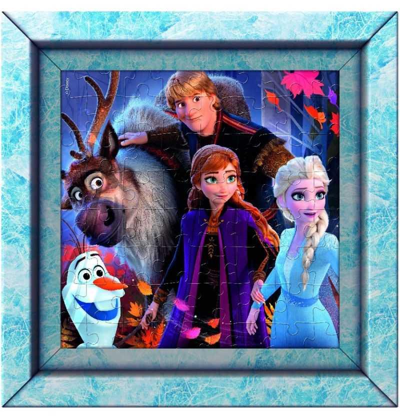 Comprar Puzzle 60 piezas Frozen con Marco Disney
