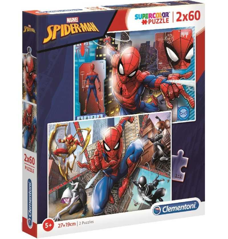 Comprar Dos Puzzles 60 piezas Spiderman