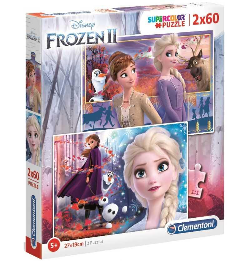 Comprar Puzzles 60 piezas Frozen Anna y Elsa