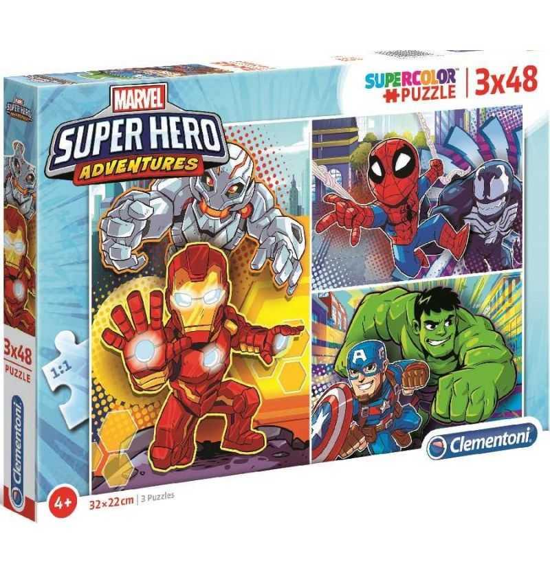 Comprar Puzzles 48 piezas Super Hero Aventuras
