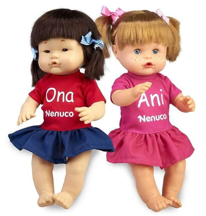 Comprar Muñecas Nenuco Ani y Ona