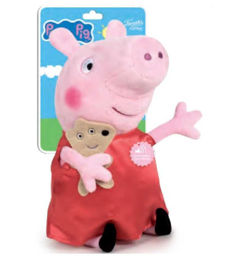 Comprar Peluche con sonidos Peppa Pig