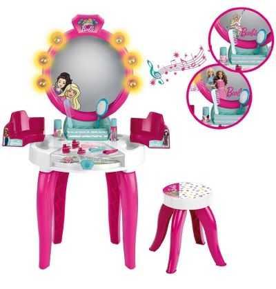 Comprar Salón de Belleza Tocador Barbie Infantil Rosa
