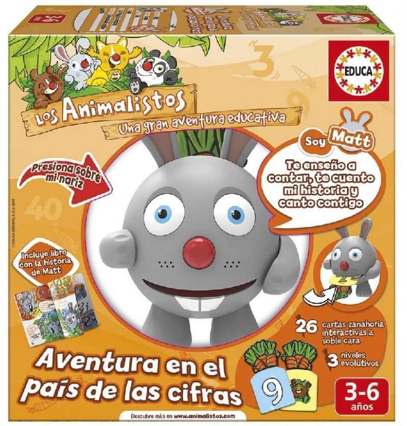 Comprar Juego educativo Animalisto Matt El Conejo