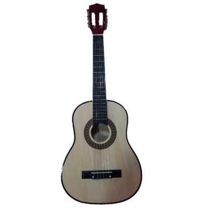 Guitarra Madera 80 cm. Clasica color tono Natural