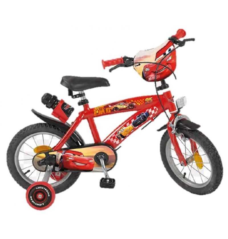 Comprar Bicleta Infantil Cars Rayo McQueen Disney 14 Pulgadas