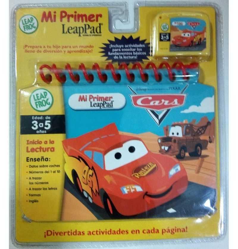 Comprar Mi primer LeapPad Cars Rayo McQueen