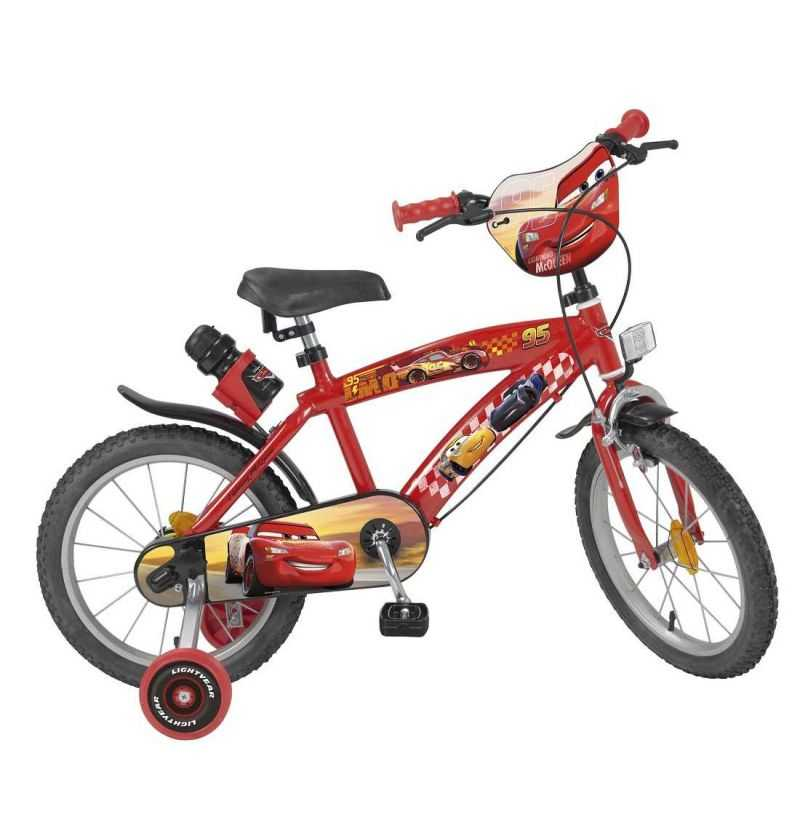 Comprar Bicicleta Infantil Cars 16 Pulgadas Disney Rayo McQueen