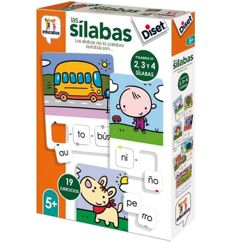 Comprar Juego educativo Las Silabas de Diset