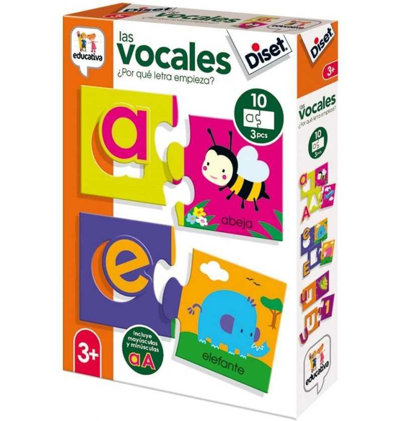Comprar Juego Educativo Las Vocales de Diset