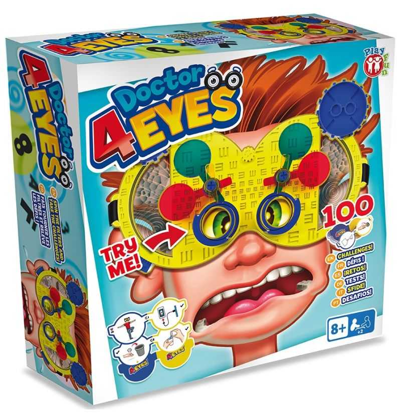 Comprar Juego de Mesa Doctor Cuatro Ojos