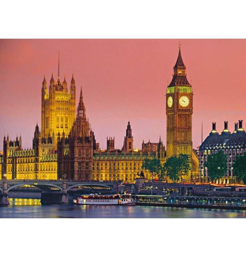 Comprar Puzzle de 500 Piezas Londres Palacio Westminster