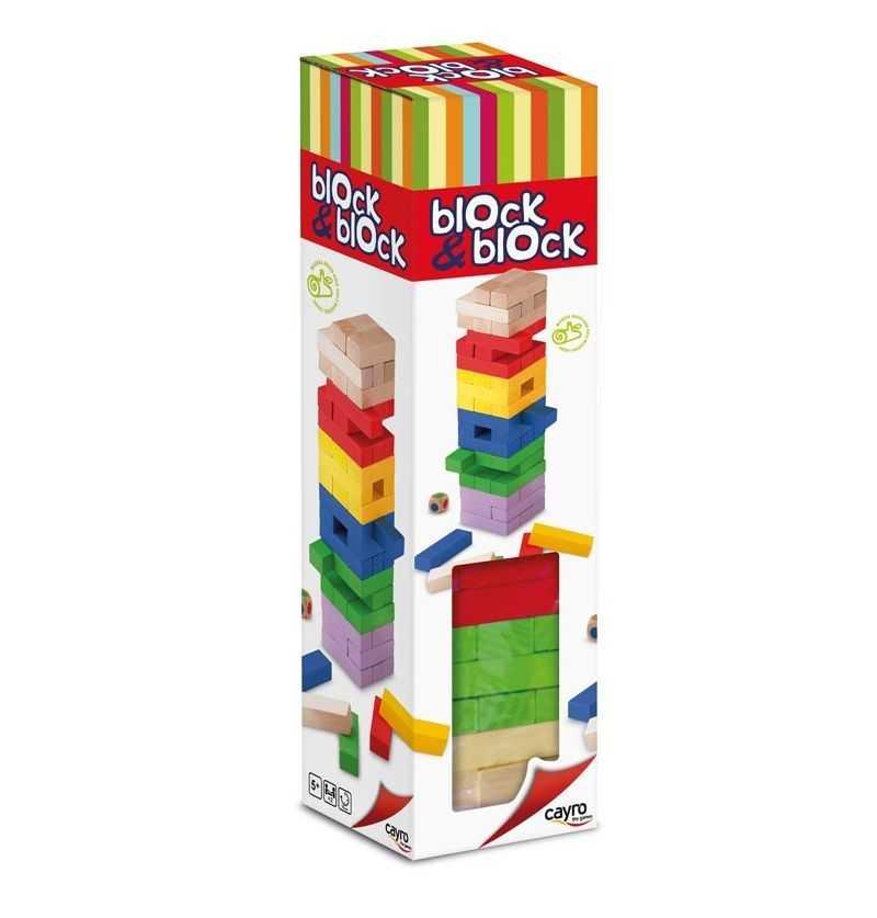 Comprar Juego de Mesa Block a Block Colores