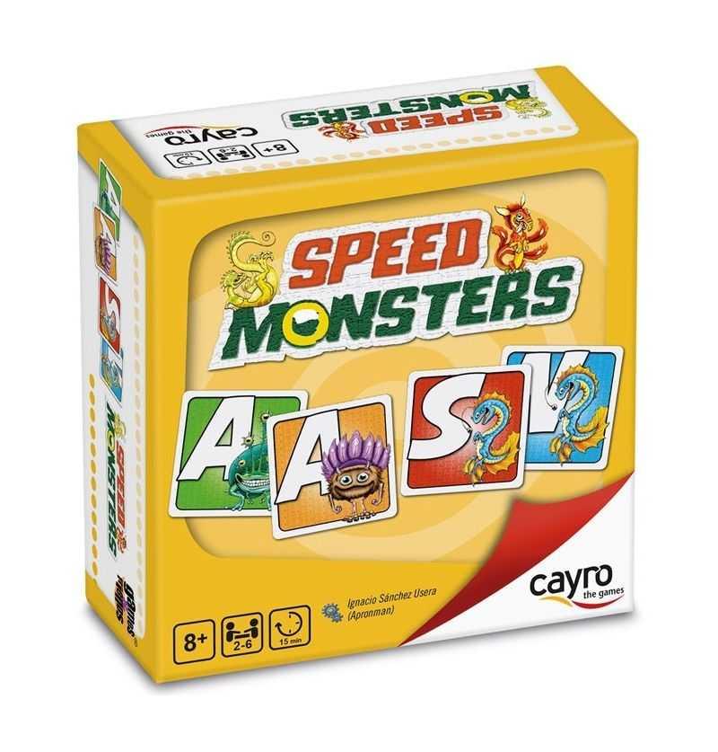 Comprar Juego de Mesa Speed Monsters