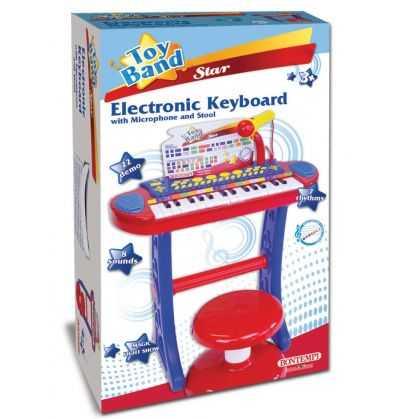 Comprar Piano Electronico Infantil Taburete