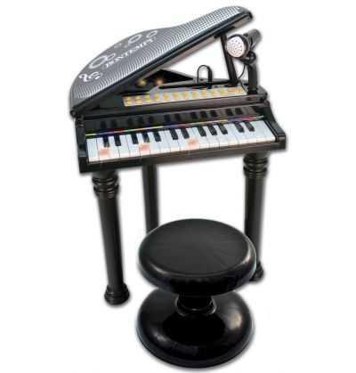 Comprar Piano Electronico Negro Infantil