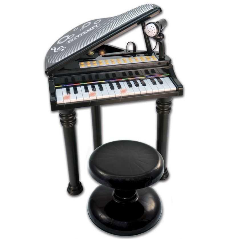Comprar Piano Electrónico Negro Infantil