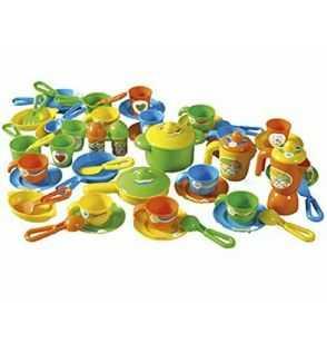 Comprar Menaje Infantil Plástico color verde-azul-amarillo
