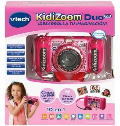 Comprar Camara Fotografica Kidizoom Duo DX 10 en 1 rosa - Vtech