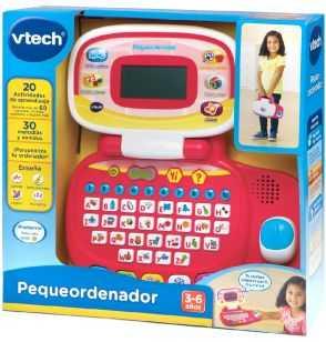 Comprar Ordenador Infantil Pequeordenador Rosa- Vtech
