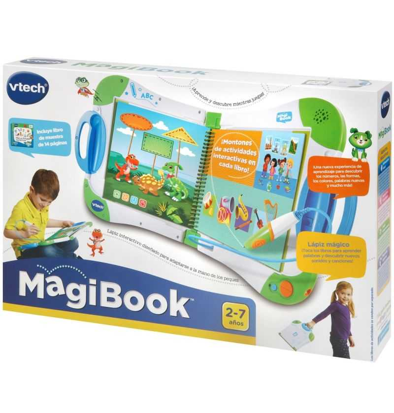 Comprar Magibook Verde Sistema de aprendizaje interactivo - Vtech