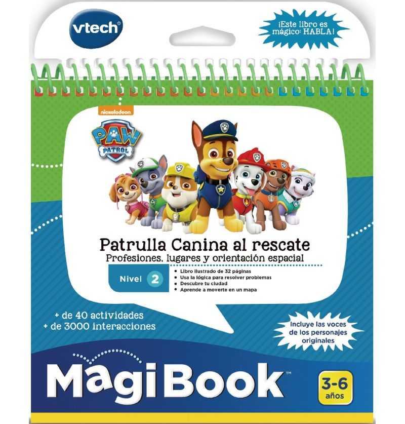 Libro Magibook Patrulla Canina