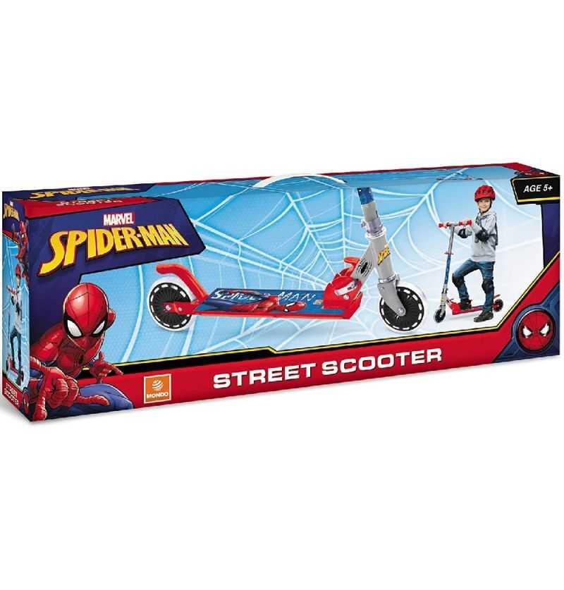 Comprar Patinete Spiderman Plegable - Mondo