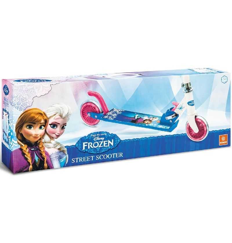 Comprar Patinete Plegable Frozen Princesas Anna y Elsa
