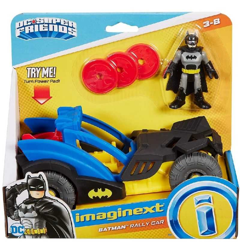 Comprar Vehiculo Rally City Batman con Figura - Imaginext