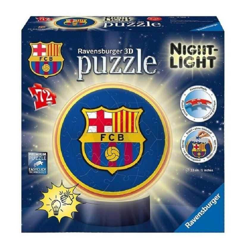 Comprar Puzzle 3D Lampara Futbol Club Barcelona