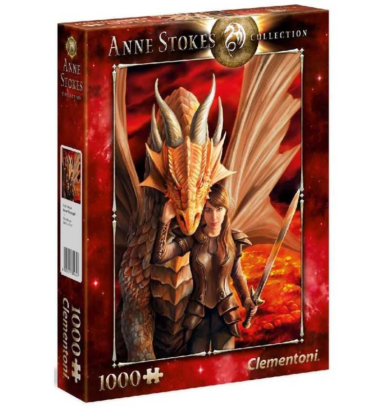 Comprar Puzzle 1000 Piezas Dragón Anne Stokes