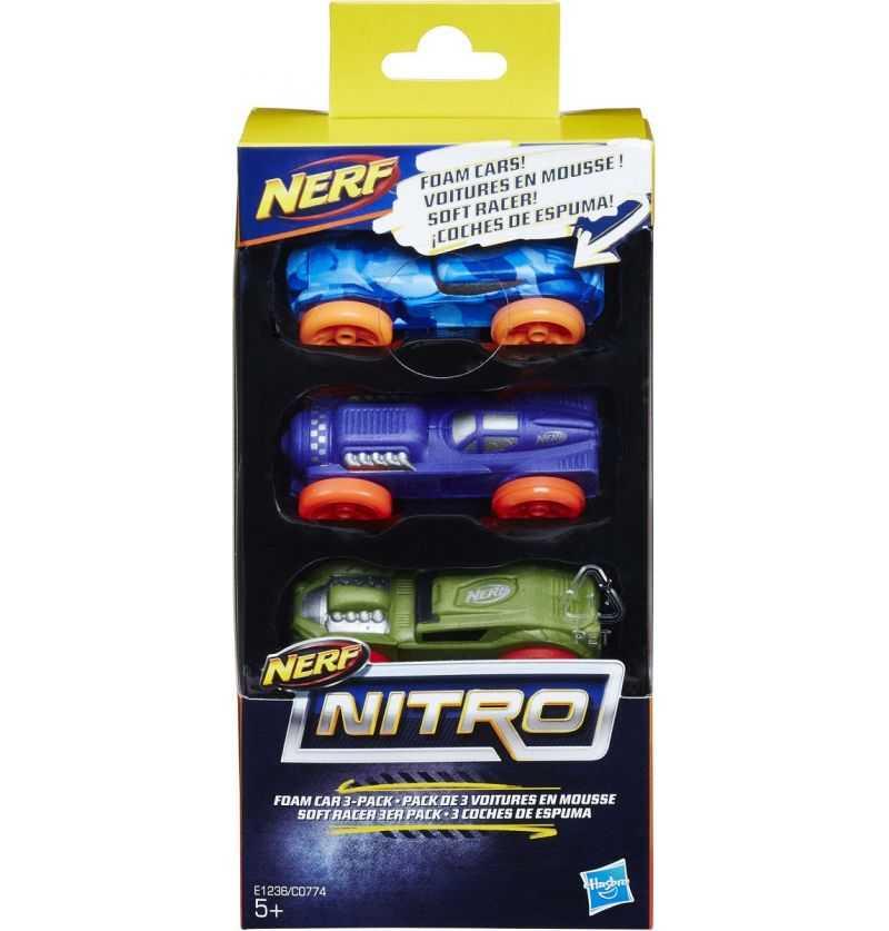 Comprar Coches de Espuma Nerf Nitro 3