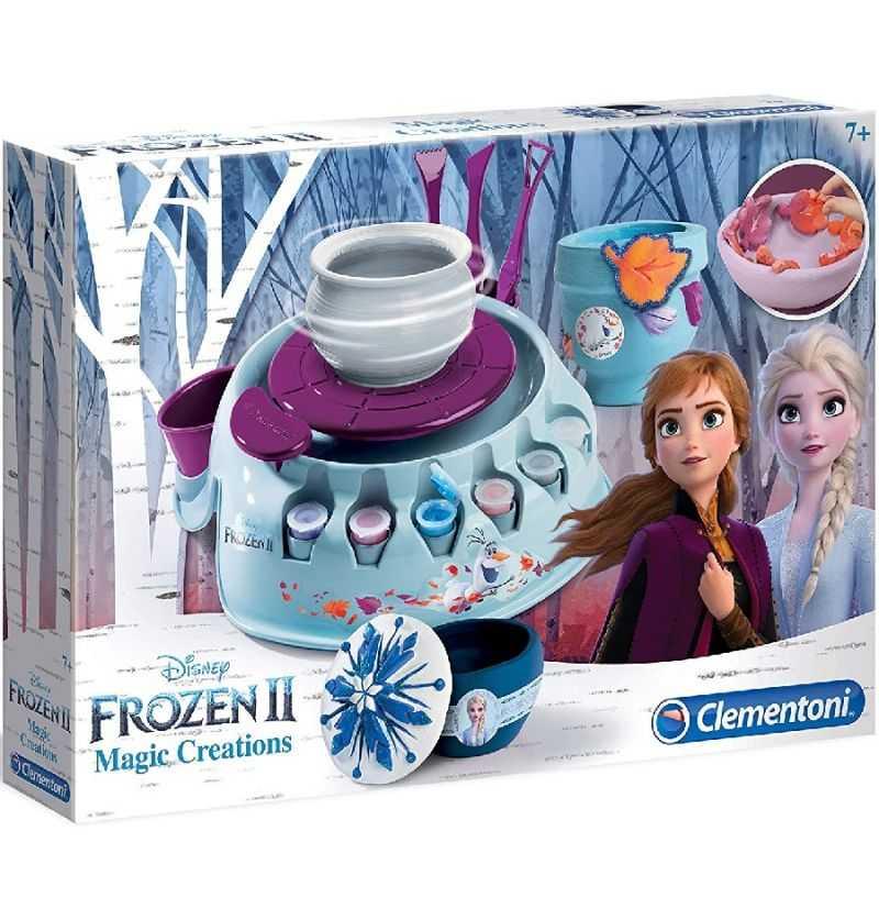 Comprar Torno Alfarero Frozen Anna y Elsa