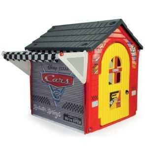 Comprar Casa Garaje Infantil Cars Rayo McQueen rojo