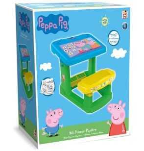 Comprar Pupitre Infantil Peppa Pig verde-azul-amarillo