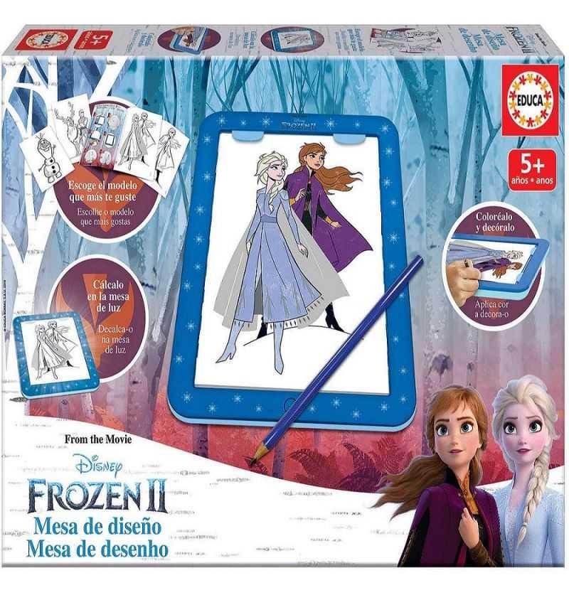 Comprar Designer Mesa Diseño Frozen Princesas Ana y Elsa