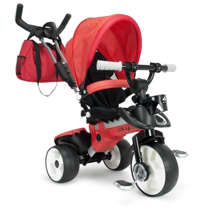 Comprar Triciclo Infantil City Max Rojo
