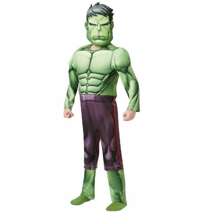Comprar Disfraz Hulk Luxe Infantil Marvel Vengadores
