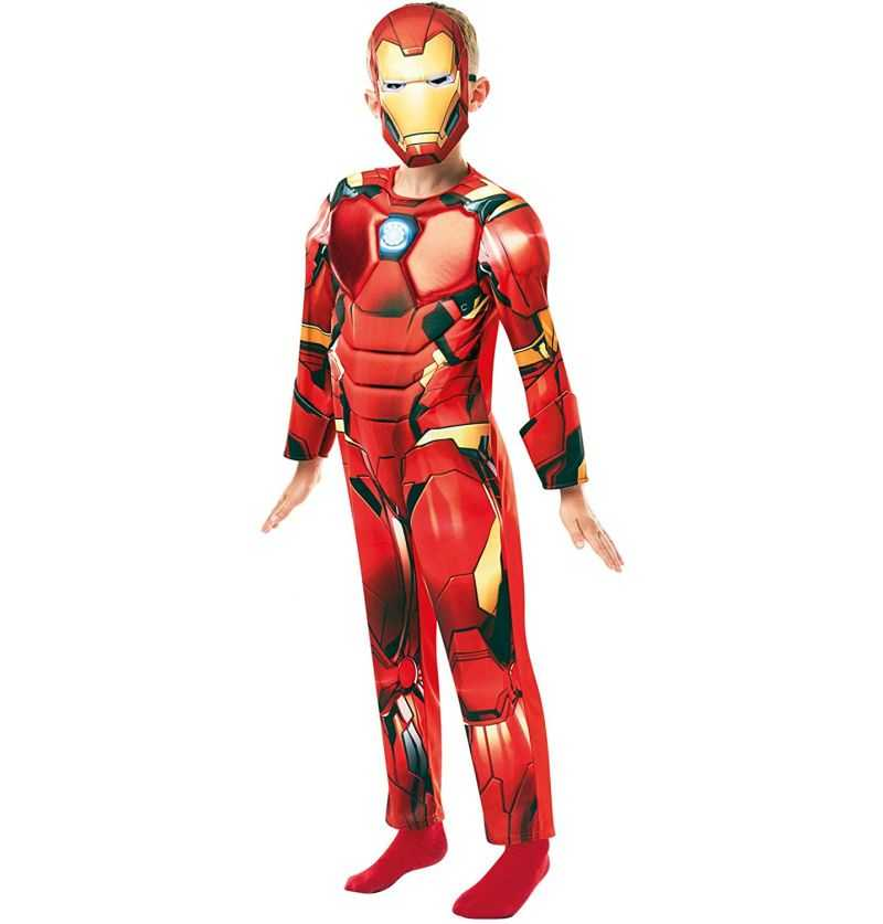 Comprar Disfraz Iron Man de Luxe Infantil Marvel Vengadores