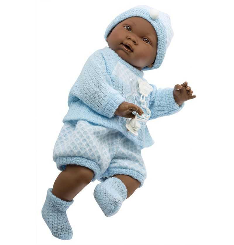 Muñeco Recien Nacido Noe Vestido - Muñecas Llorens