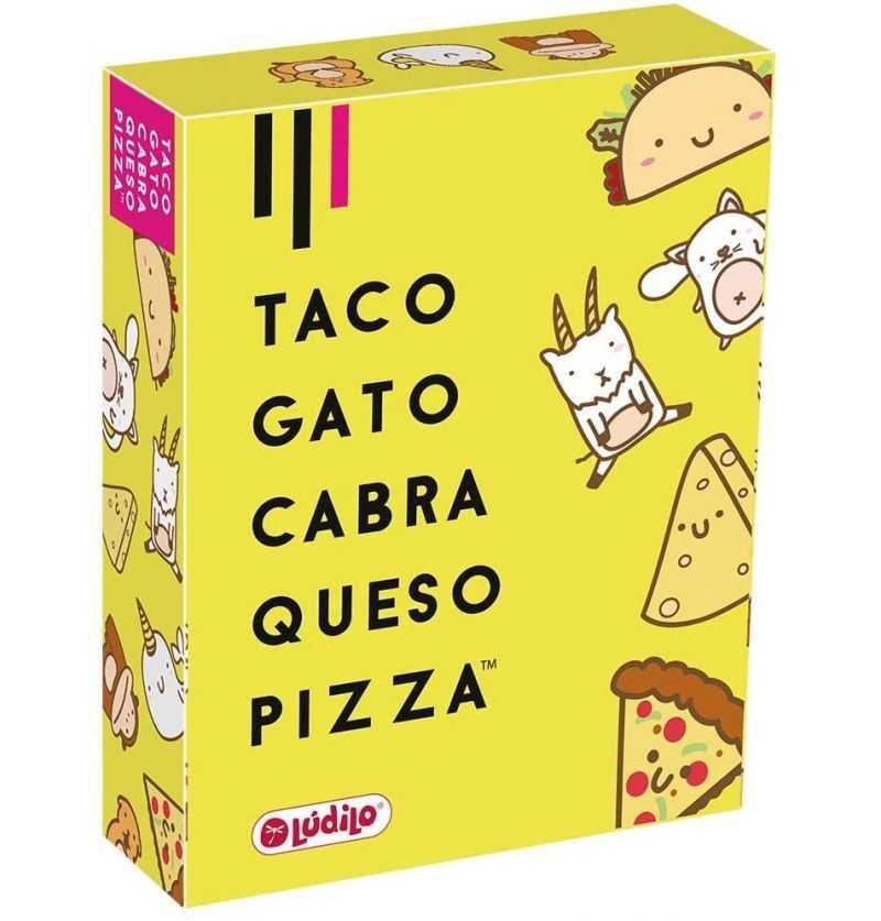 Comprar Juego de Cartas Taco, Gato, Cabra, Queso y Pizza