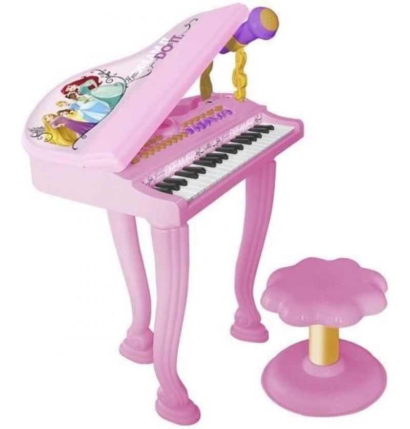 Comprar Piano de Cola con Banqueta Princesas Disney