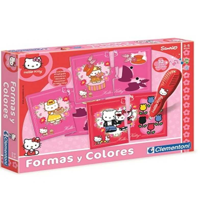 Comprar Juego educativo Formas y Colores Hello Kitty