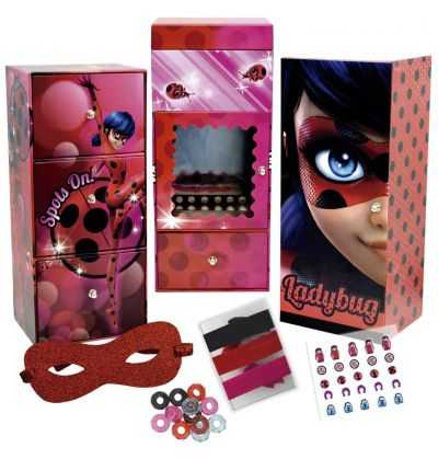 Comprar Taquilla Triple Joyero LadyBug
