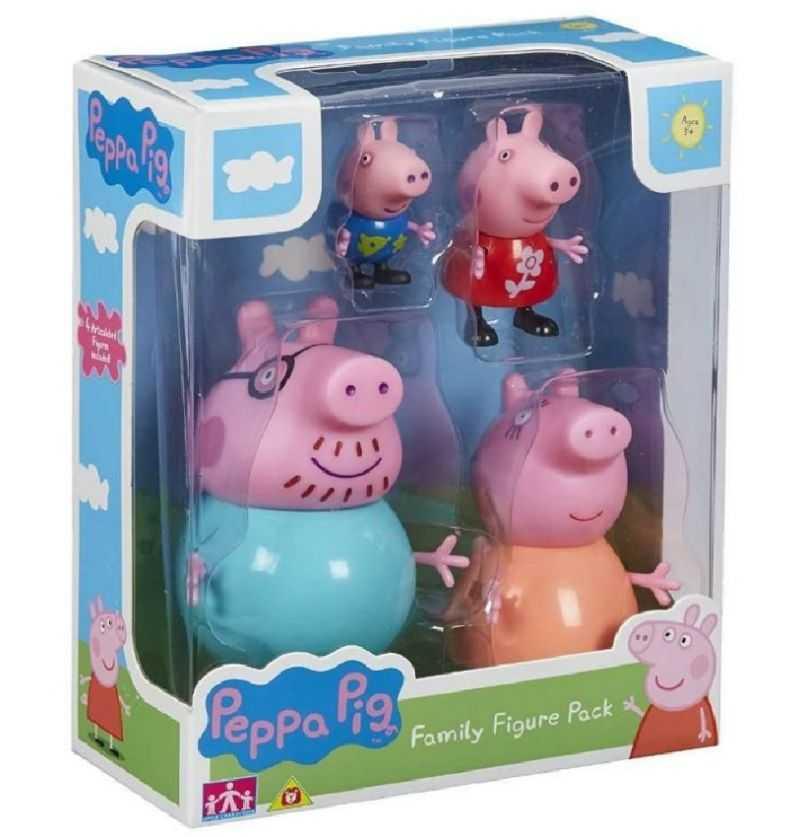 Comprar figuras Peppa Pig Familia Pack