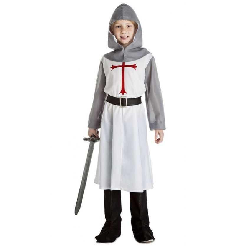 Comprar Disfraz Caballero Medieval Infantil Templario