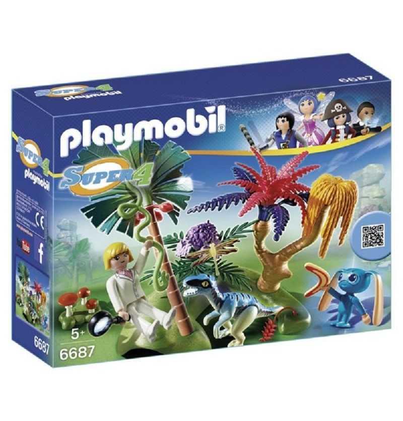 Comprar Isla Perdida con Alien y Raptor Playmobil