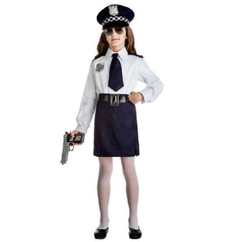 Comprar Disfraz Policia Niña