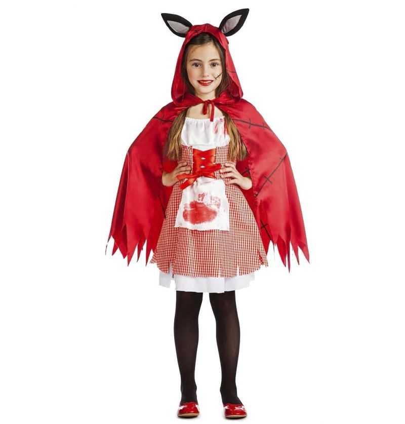 Comprar Disfraz Caperucita Poseida Infantil Halloween