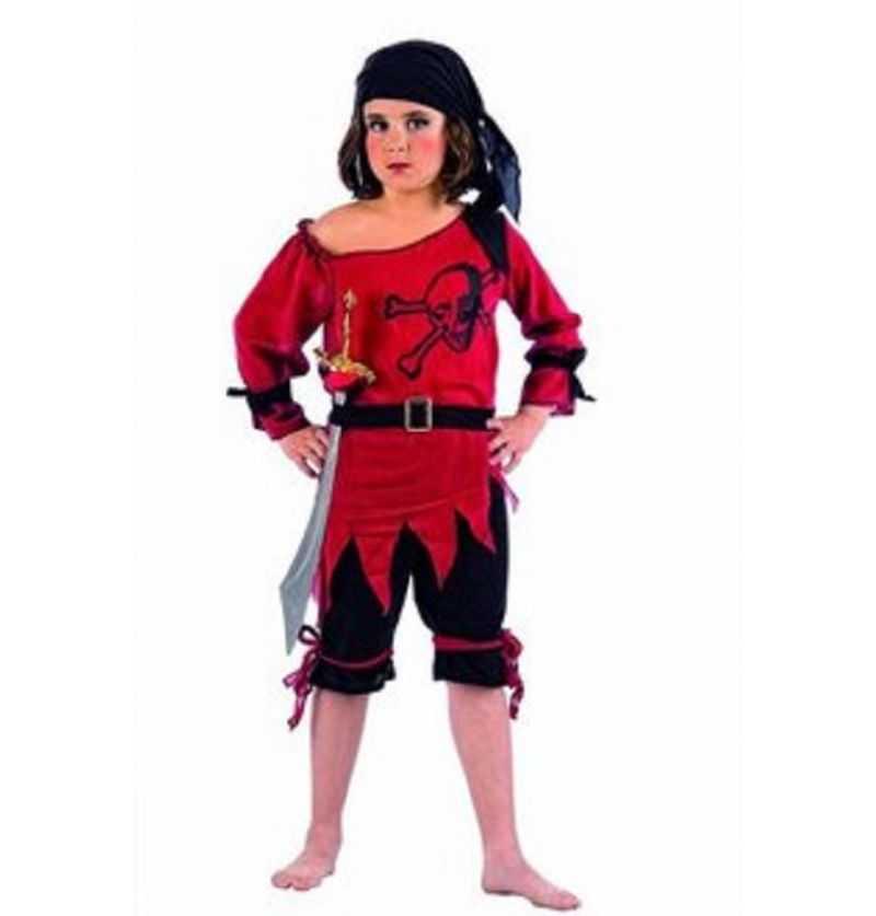 Comprar Disfraz Piratina Calavera Infantil